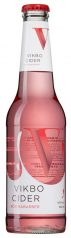 Vikbo Cider Röd Rabarber glasflaska